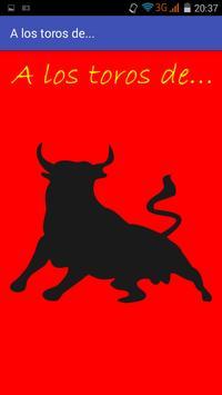 A los toros de... poster