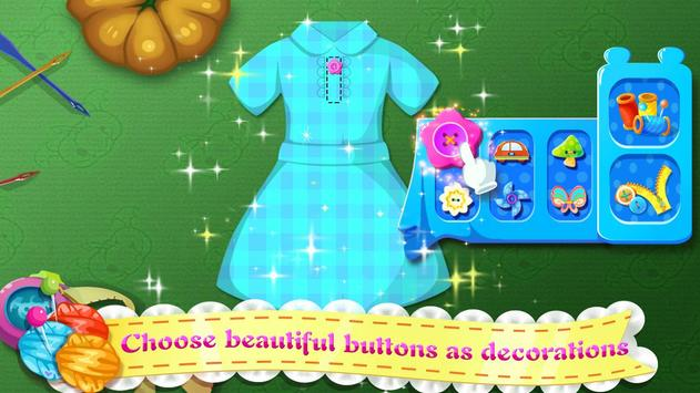 Little Tailor - Halloween Clothes Maker apk screenshot
