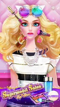 Top Model Makeup Salon poster