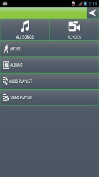 Audio Video Media Player screenshot 1