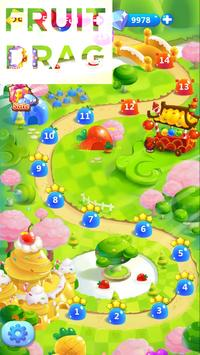 Fruit Drag apk screenshot