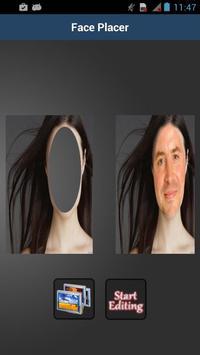 Face Placer Morph apk screenshot