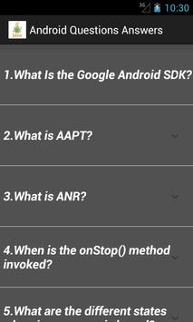 Interview Questions Answers apk screenshot