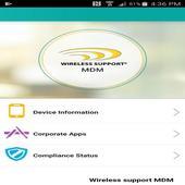 wireless support mdm icon