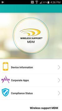 wireless support mdm screenshot 1