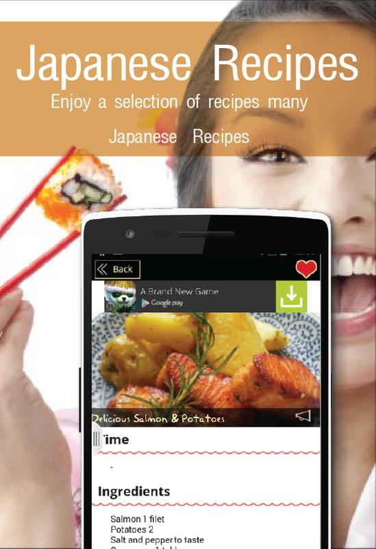 Japanese recipes apk download free lifestyle app for android japanese recipes apk screenshot forumfinder Image collections
