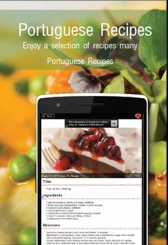 Portuguese Recipes Free screenshot 1