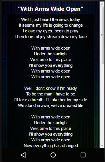 Creed Lyrics for Android - APK Download