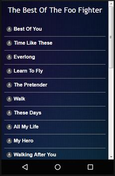 Foo Fighters Lyrics apk screenshot