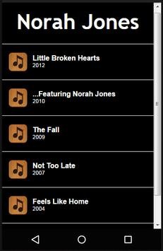 Norah Jones lyrics poster