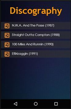 NWA Lyrics apk screenshot