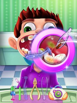 CRAZY DENTIST SURGERY-poster