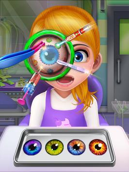 Crazy Eye Transplant Simulator Surgery Doctor Game screenshot 18