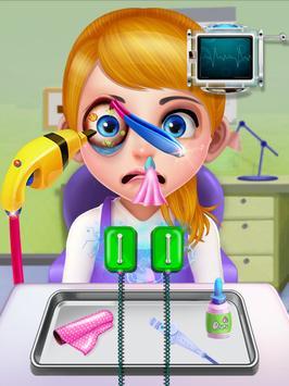 Crazy Eye Transplant Simulator Surgery Doctor Game screenshot 19
