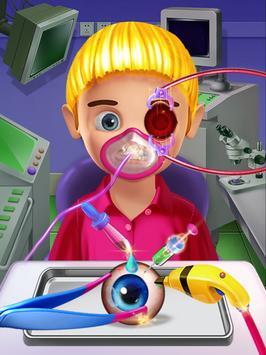 Crazy Eye Transplant Simulator Surgery Doctor Game screenshot 1