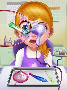 Crazy Eye Transplant Simulator Surgery Doctor Game screenshot 2