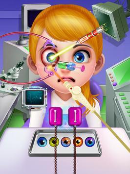 Crazy Eye Transplant Simulator Surgery Doctor Game screenshot 7