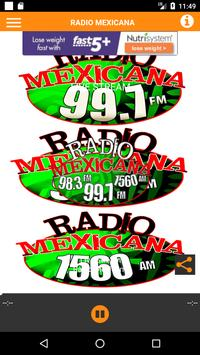 RadioMexicAna997 poster