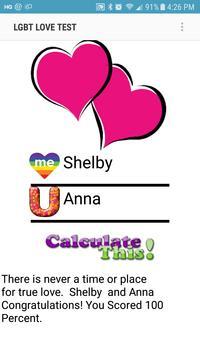 LGBT Love Test poster