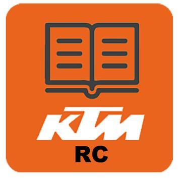 KTM RC Manual poster