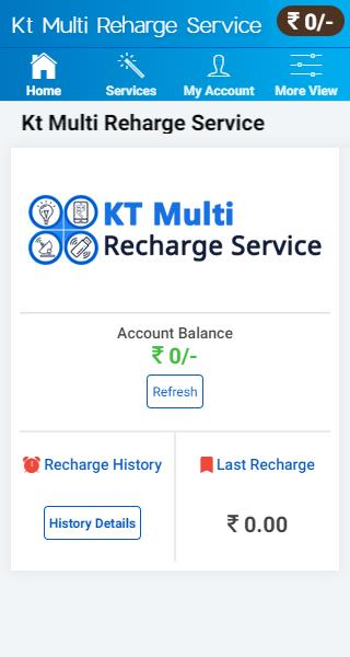 KT Multi Recharge Service - Prepaid & Postpaid pay for Android - APK