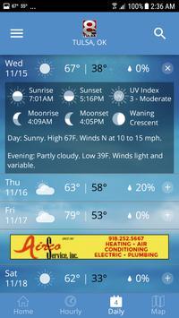 KTUL Weather screenshot 4