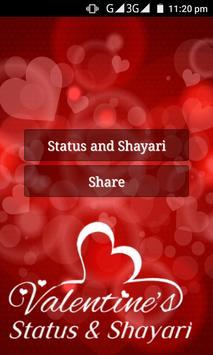 Valentine Status and Shayari screenshot 1