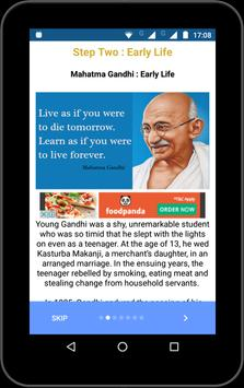 Motivational Quotes(Kalam, Gandhi , Vivekananda) screenshot 13