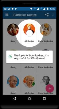 Motivational Quotes(Kalam, Gandhi , Vivekananda) screenshot 1