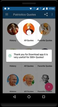 Motivational Quotes(Kalam, Gandhi , Vivekananda) screenshot 9
