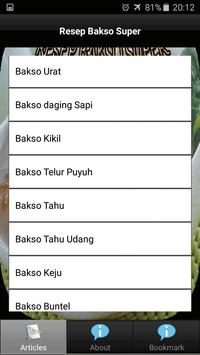 Resep Bakso Super screenshot 2