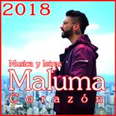 Maluma - Nuevo Corazón Canciones y Letras 2018 icon