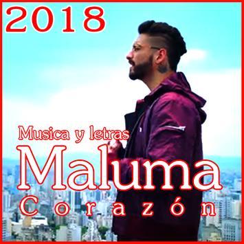 Maluma - Nuevo Corazón Canciones y Letras 2018 screenshot 1