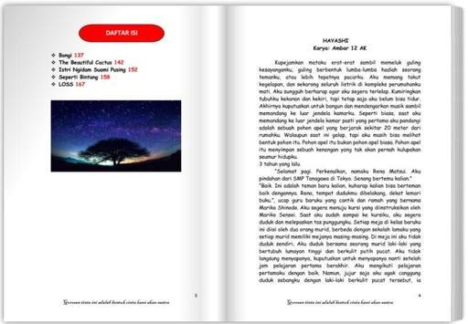 Kucinta : Kumpulan Cerpen dan Puisi Kita screenshot 1