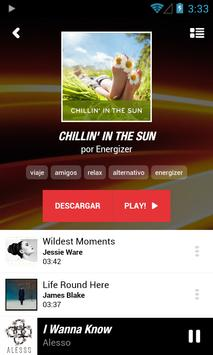 Energizer Music apk screenshot