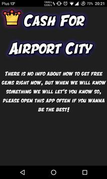 Cash For Airport City poster