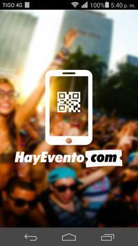 HayEvento Lector poster