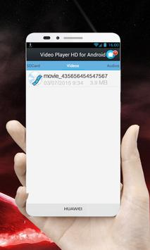 Video Player HD for Android apk screenshot