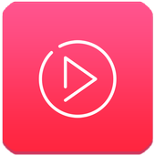 Free video player For Android icon