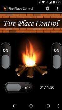 Fire Place Control poster