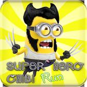 SuperHero Chibi RUN icon