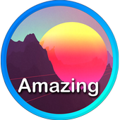 Amazing wallpapers icon