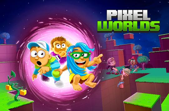 Games Pixel Worlds apk android new version Game best