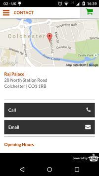 Raj Palace, Colchester screenshot 2