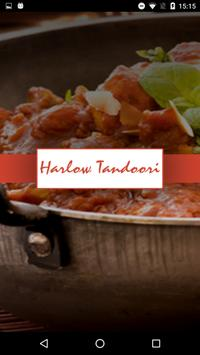 Harlow Tandoori Indian poster