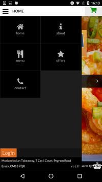 Moriam Charcoal Grill apk screenshot