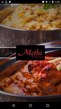 Methi Indian Cusine Takeaway poster