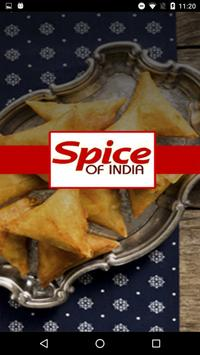 Spice Of India Indian Takeaway poster