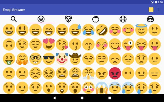 Emoji Browser apk screenshot