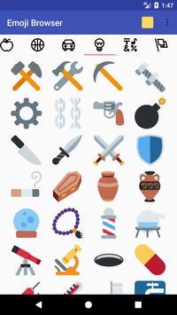 Emoji Browser apk screenshot